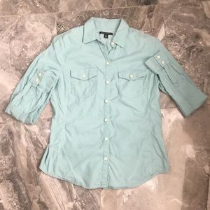 Banana Republic Button Down Blouse Sz PM